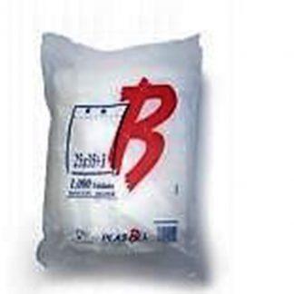 B.BLOCK 25X35+3 TRANSP. PAQ.1000 UDS C/5 PLASBEL