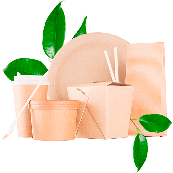 Envases biodegradables ECOLINE