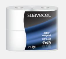 HIGIENICO COMPACTO 4=16 P.4 S/12 SUAVECEL