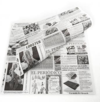 papel pergamino antigrasa periodico