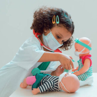 MASCARILLA INFANTIL COLORES VARIOS 3C DESECHABLE