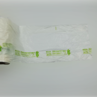 BOLSA SECCION EN ROLLO 30X40 COMPOSTABLE  200 UDS C/9 NEVACOMPOST